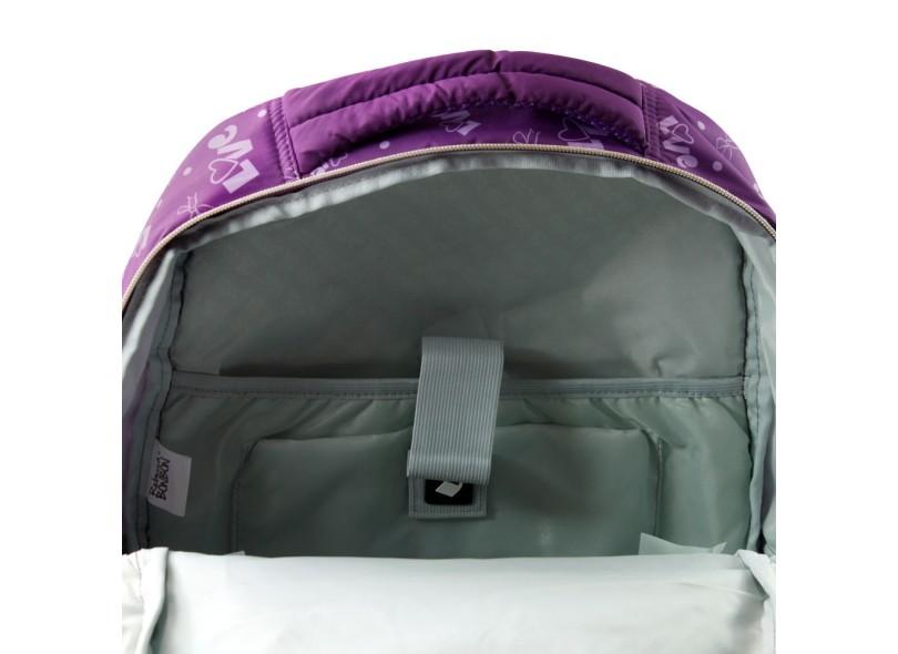Mochila Clio Style Rebecca Bonbon com Compartimento para Notebook RB7187