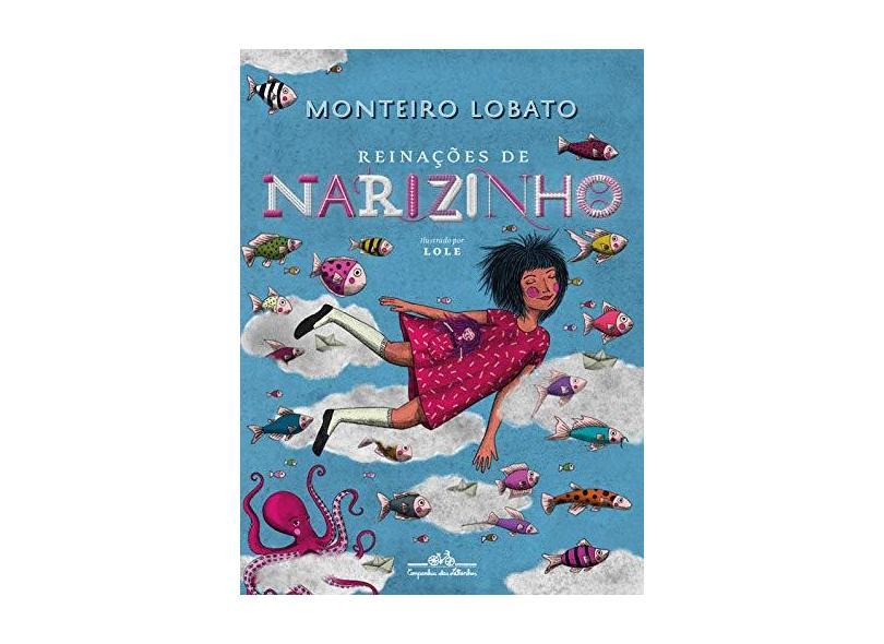 Reinações de Narizinho (edição de luxo) - Monteiro Lobato - 9788574068329