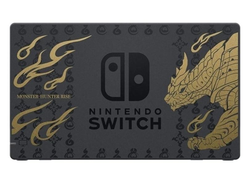 Console Nintendo Switch 32 GB Monster Hunter Rise Deluxe Edition