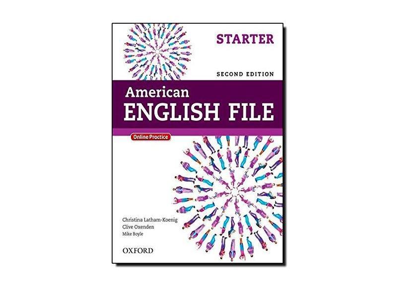 Am English File Starter Student's Book W Itutor 2Ed - Capa Comum - 9780194776141