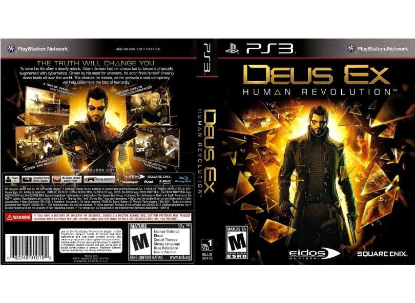 Jogo Deus Ex Human Revolution PlayStation 3 Square Enix