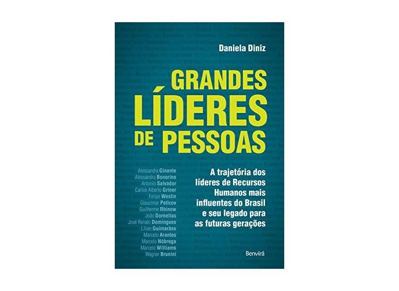 Grandes Líderes de Pessoas - Daniela Diniz - 9788557172302