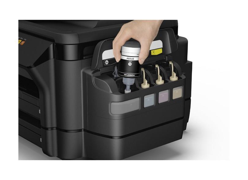 Multifuncional Epson Ecotank L1455 Tanque de Tinta Colorida Sem Fio