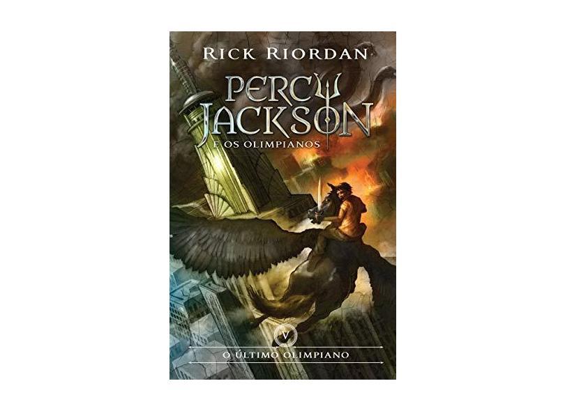 O Último Olimpiano - Coleção Percy Jackson e os Olimpianos - Vol. 5 - Rick Riordan - 9788580575439