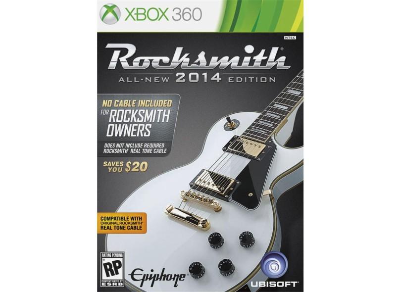 Jogo Rocksmith 2014 Xbox 360 Ubisoft