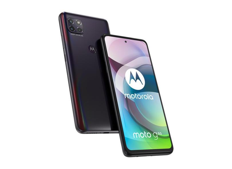 Smartphone Motorola Moto G 5G XT2113-3 128GB Câmera Tripla 2 Chips Android 10