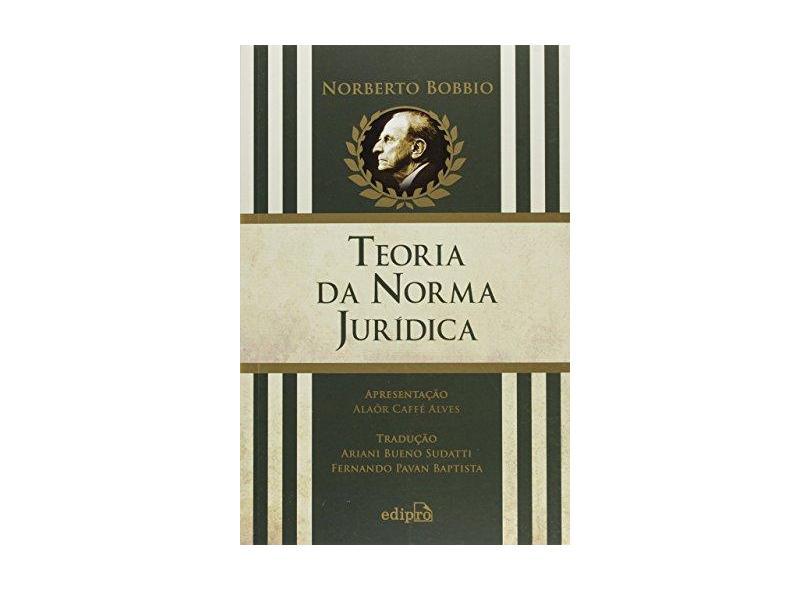 Teoria da Norma Jurídica - 6ª Ed. 2016 - Bobbio, Norberto - 9788572839037