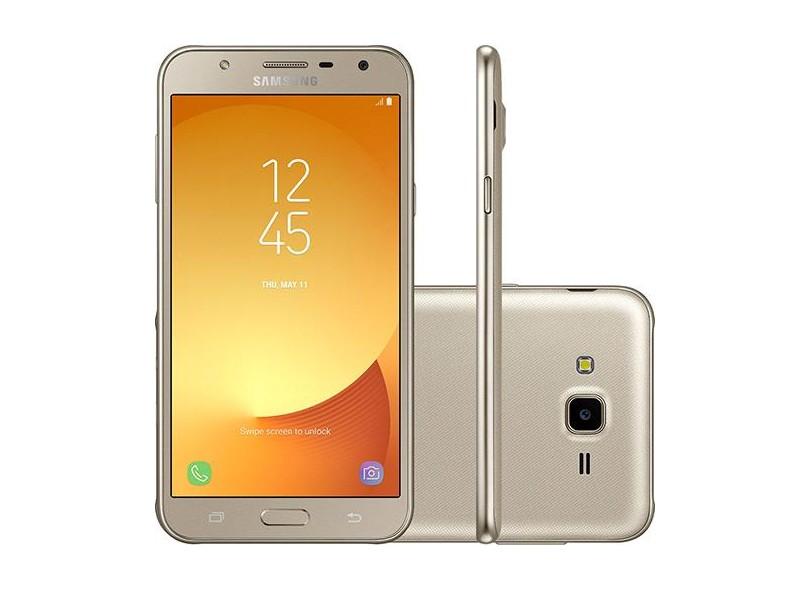 Smartphone Samsung Galaxy J7 Neo TV Digital 16GB J701 13,0 MP 2 Chips Android 7.0 (Nougat) 3G 4G Wi-Fi