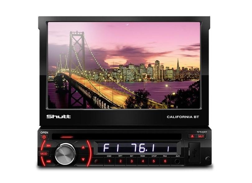 """DVD Player Automotivo Shutt 7 """" Califórnia"""