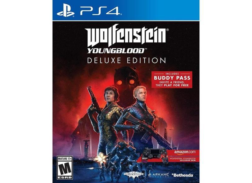 Jogo Wolfenstein Youngblood PS4 Bethesda