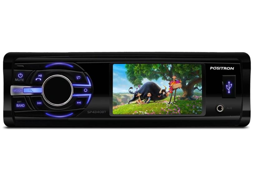 "DVD Player Automotivo Pósitron 3 "" SP4340BT"