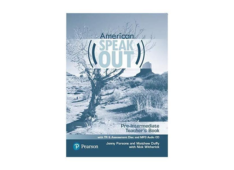Speakout Pre-Interm 2E American - Teacher's Book with TR & Assessment CD & MP3 Audio CD: American - Pre-Intermediate - Teacher's Book With TR & Assessment CD & MP3 Audio CD - Damian Williams - 9786073240567
