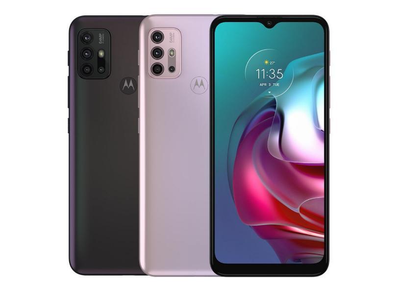 Smartphone Motorola Moto G G30 XT2129-1 4 GB 128GB Câmera Quádrupla Qualcomm Snapdragon 662 Android 11