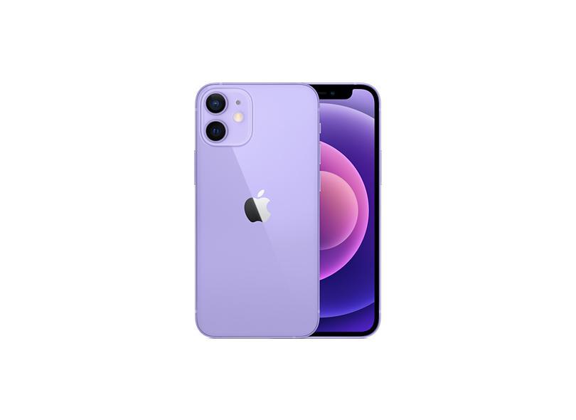 Smartphone Apple iPhone 12 Mini 4 GB 64GB Câmera Dupla Apple A14 Bionic iOS 14