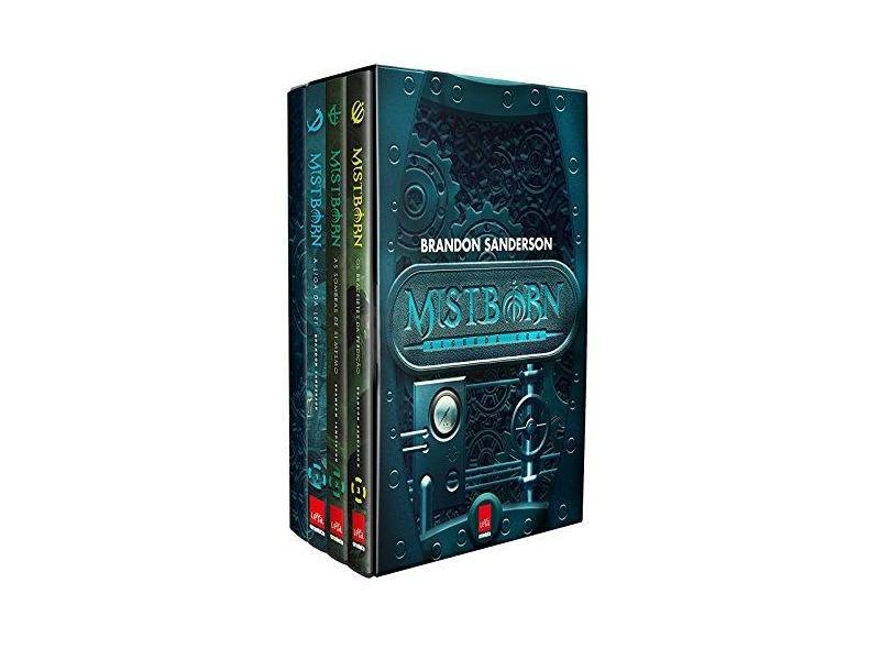 2ª Era de Mistborn - Caixa com Volumes 4, 5, 6 (+ Caderno) - Brandon Sanderson - 9788544106723