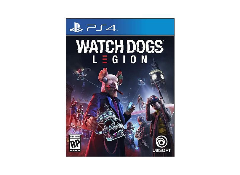 Jogo Watch Dogs Legion PS4 Ubisoft