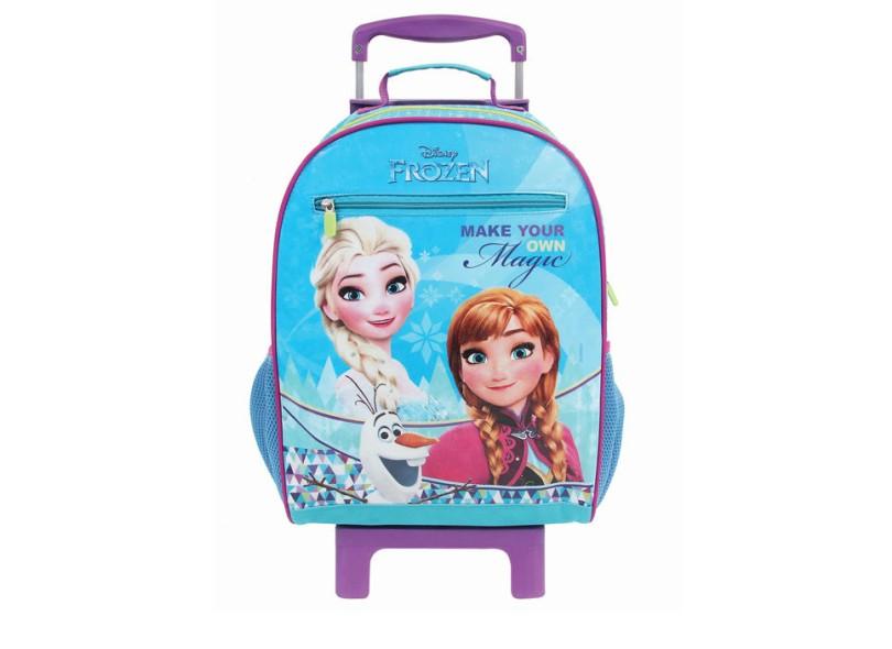 Mochila com Rodinhas Escolar Dermiwil Disney Frozen Effect G 30191