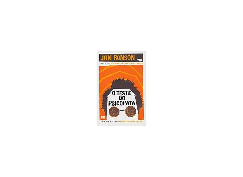 O Teste do Psicopata - Ronson, Jon - 9788576845904