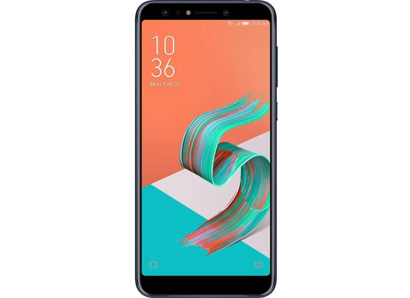 Smartphone Asus Zenfone 5 Selfie ZC600KL 64GB 16.0 MP 2 Chips Android 8.0 (Oreo) 3G 4G Wi-Fi