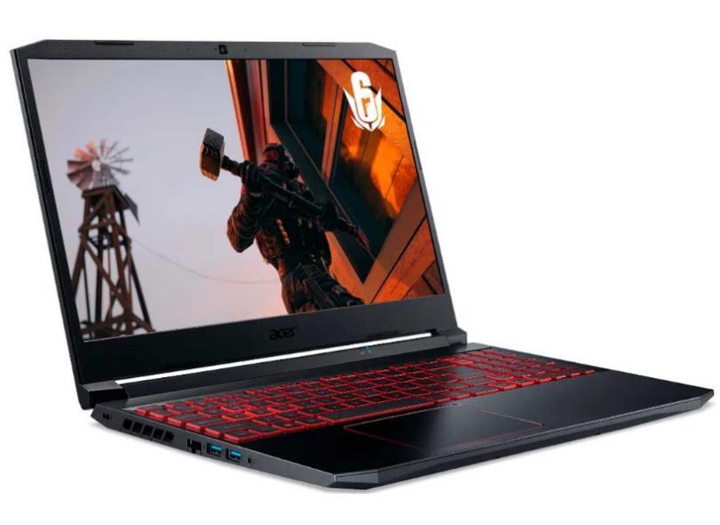 "Notebook Gamer Acer Aspire Nitro 5 AMD Ryzen 7 4800H 8.0 GB de RAM 512.0 GB 15.6 "" Full GeForce GTX 1650Ti Windows 10 AN515-44-R8HN"