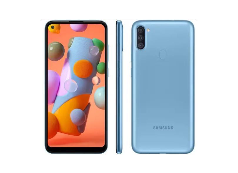 Smartphone Samsung Galaxy A11 SM-A115M 64GB Câmera Tripla Android 10