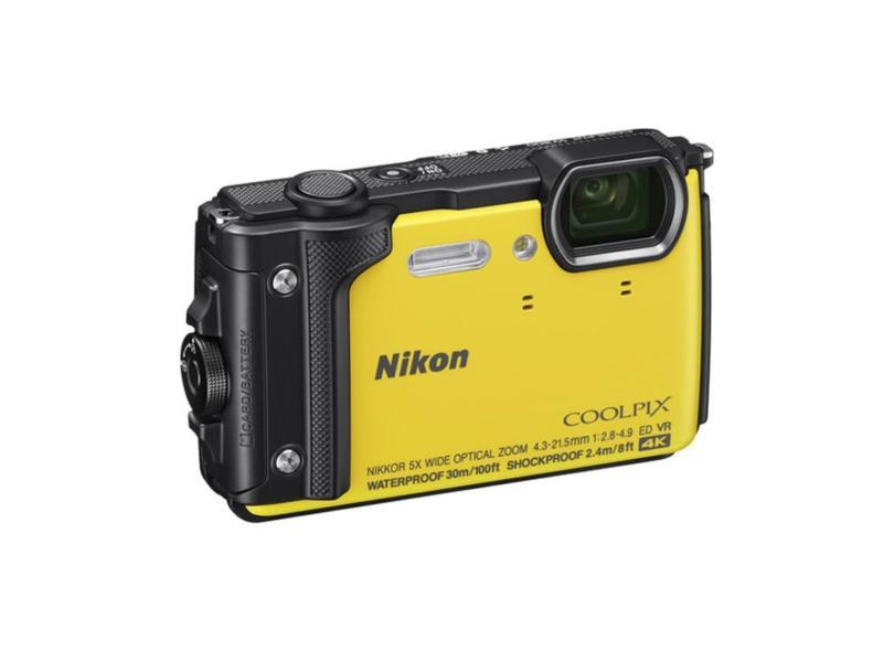 Câmera Digital Nikon Coolpix 16 MP 4K W300