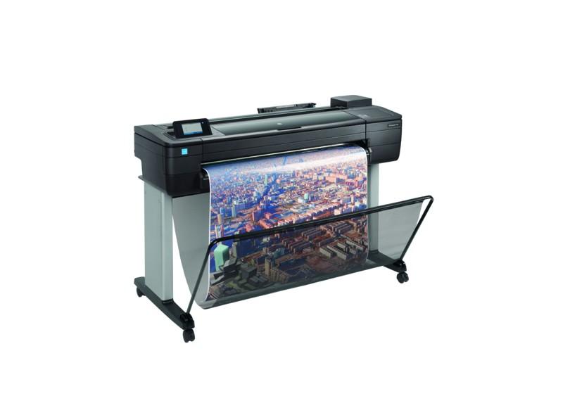 Plotter HP Designjet T730 36 Jato de Tinta Colorida Sem Fio