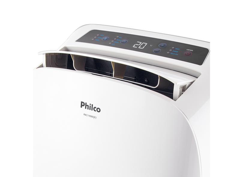 Ar Condicionado Portátil Philco 11000 BTUs Controle Remoto Quente/Frio PAC11000QF2