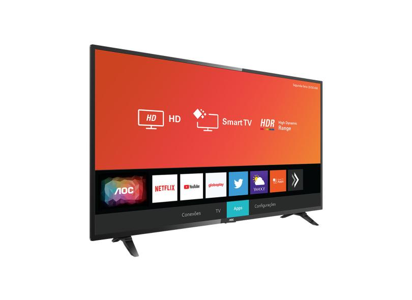 "Smart TV TV LED 32 "" AOC Netflix 32S5295 3 HDMI"