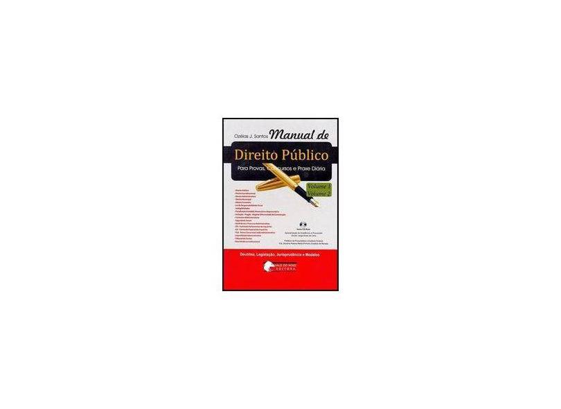 Manual De Direito Publico - Ozeis J. Santos - 9788588870147