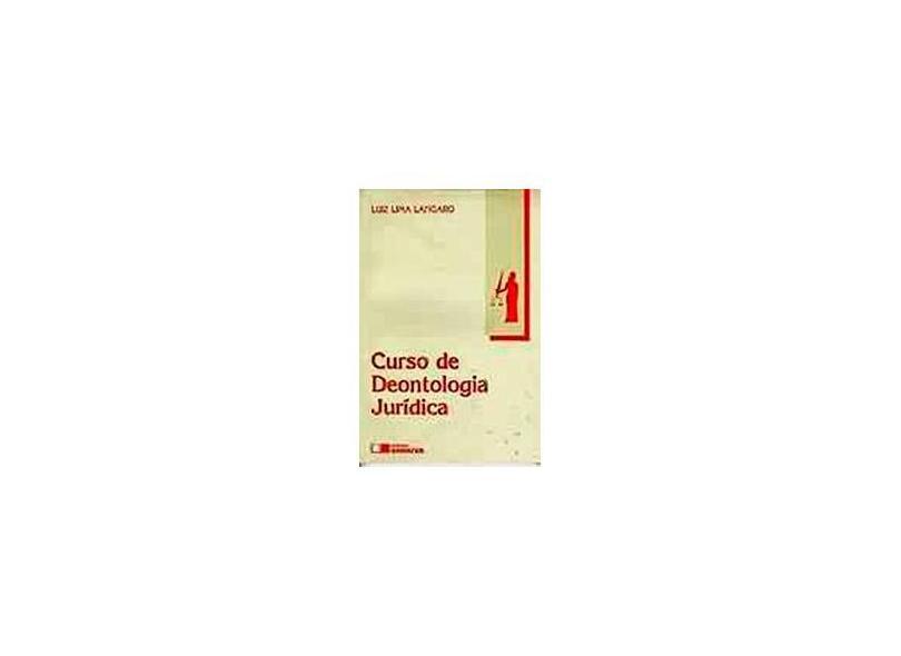 Curso de Deontologia Jurídica - Lângaro,luiz Lima - 9788502020153