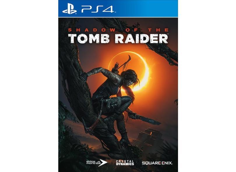 Jogo Shadow of the Tomb Raider PS4 Square Enix