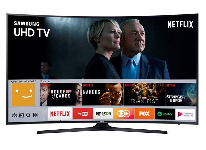 "Smart TV TV LED 55 "" Samsung Série 6 4K 55MU6300"