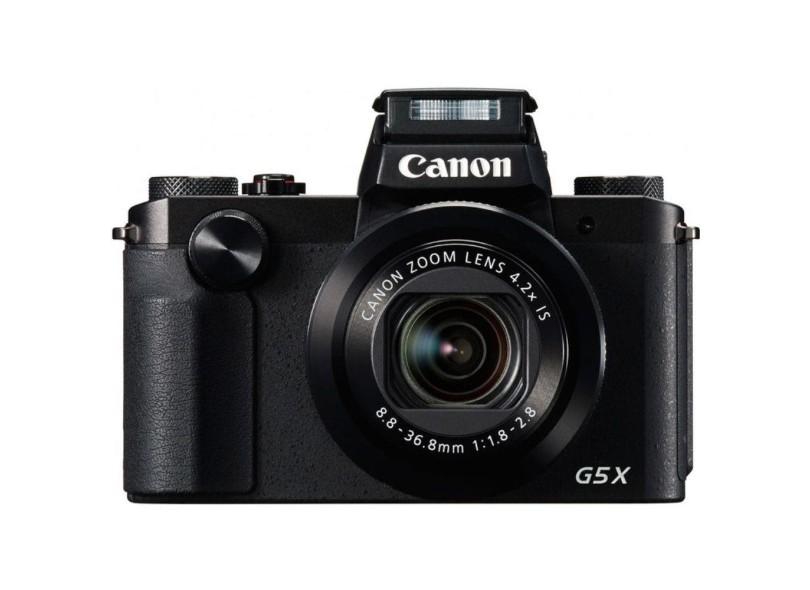 Câmera Digital Semiprofissional Canon PowerShot 20.2 MP Full HD G5X