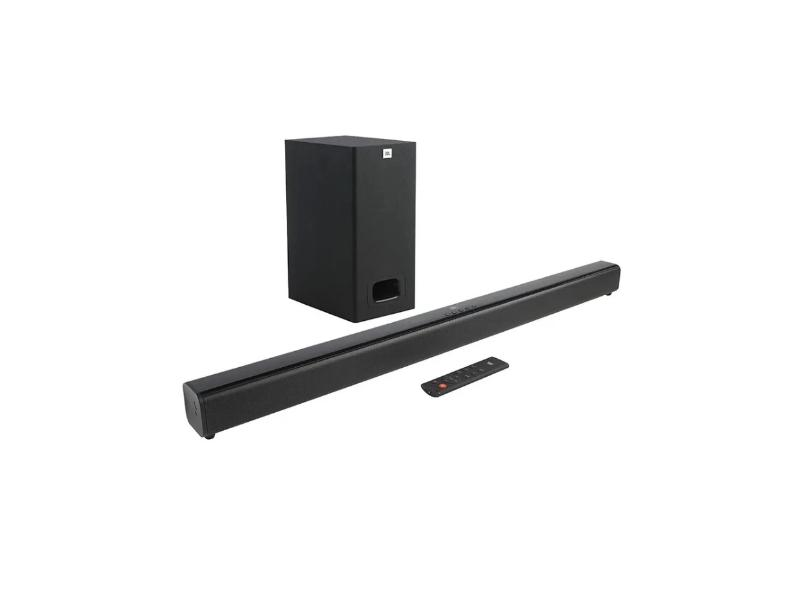 Home Theater Soundbar JBL 55 W 2.0 Canais 1 HDMI Cinema SB130