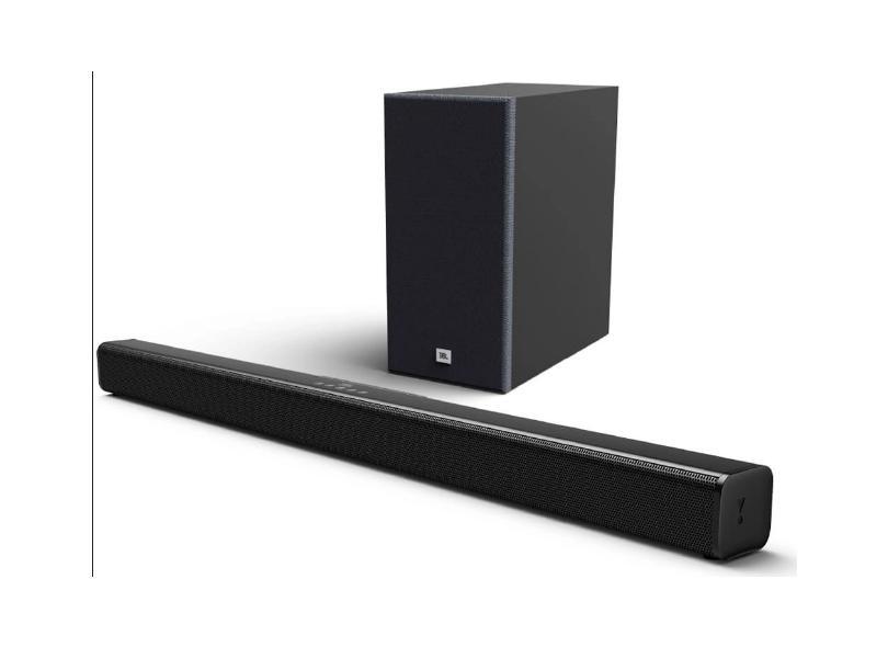 Home Theater Soundbar JBL 110 W 2.1 Canais 1 HDMI Cinema SB160