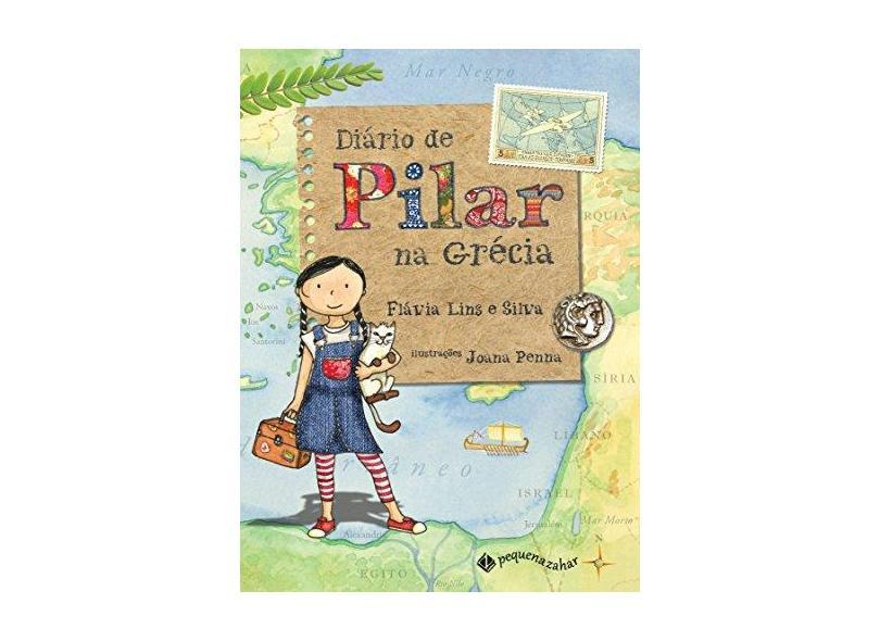 Diário de Pilar na Grécia - Capa Comum - 9788566642407