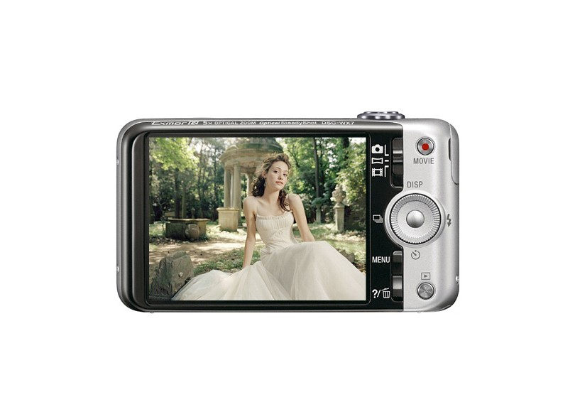 Câmera Digital Cyber-shot DSC-WX7 Sony