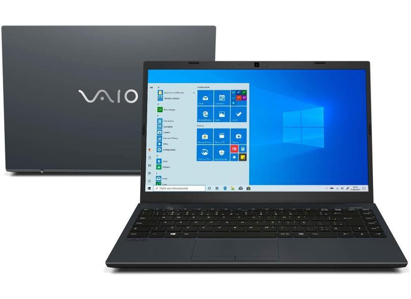 "Notebook Vaio FE14 Intel Core i3 8130U 8ª Geração 4 GB de RAM 1024 GB 14 "" Full Windows 10 VJFE41F11X-B0411H"