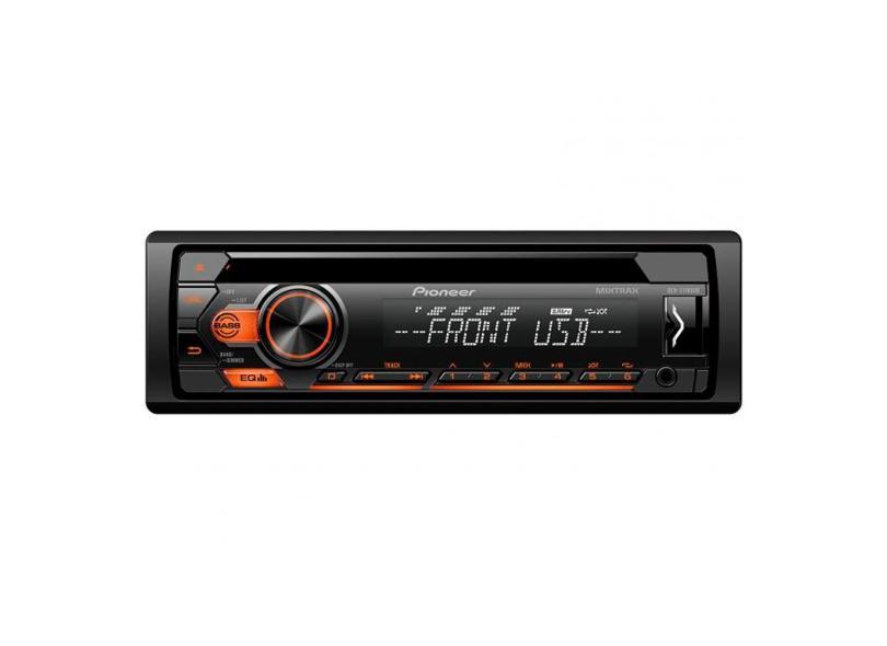 CD Player Automotivo Pioneer DEHS1180UB