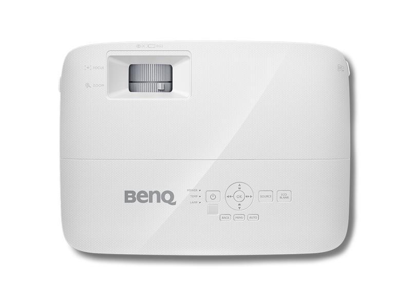 Projetor BenQ 3600 lumens Projeção em 3D MW550