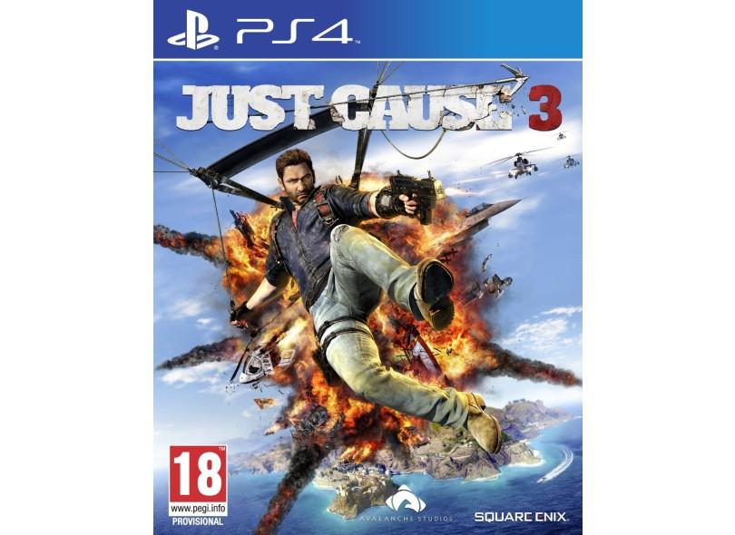 Jogo Just Cause 3 PS4 Square Enix
