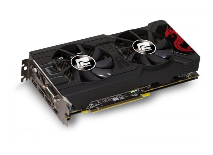 Placa de Video ATI Radeon RX 570 4 GB GDDR5 256 Bits PowerColor AXRX 570 4GBD5-3DHD/OC