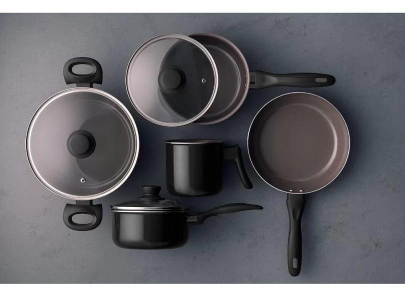 Conjunto de Panelas Alumínio 5 peça(s) Brinox Easy Ceramic Life 4789/108