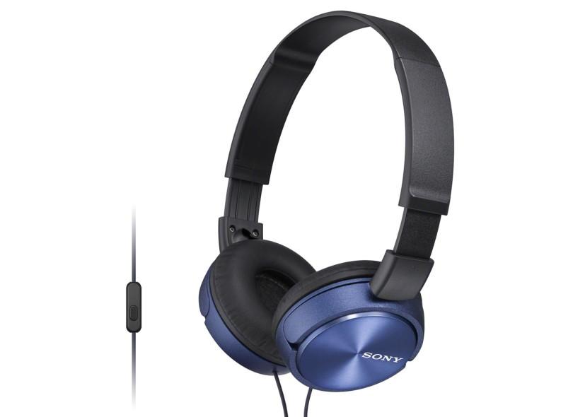 Headphone com Microfone Sony MDR-ZX310AP