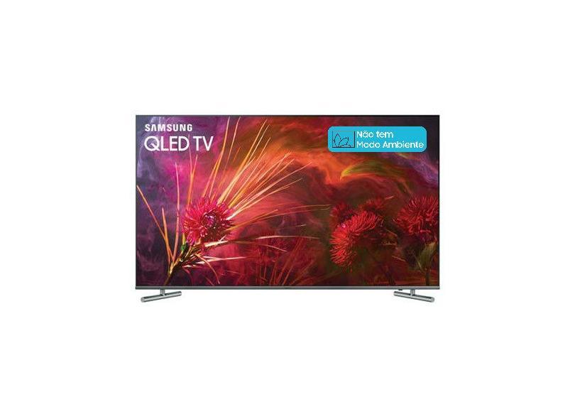 "Smart TV TV QLED 55"" Samsung Q6F 4K HDR Netflix QN55Q6FAMG 4 HDMI"