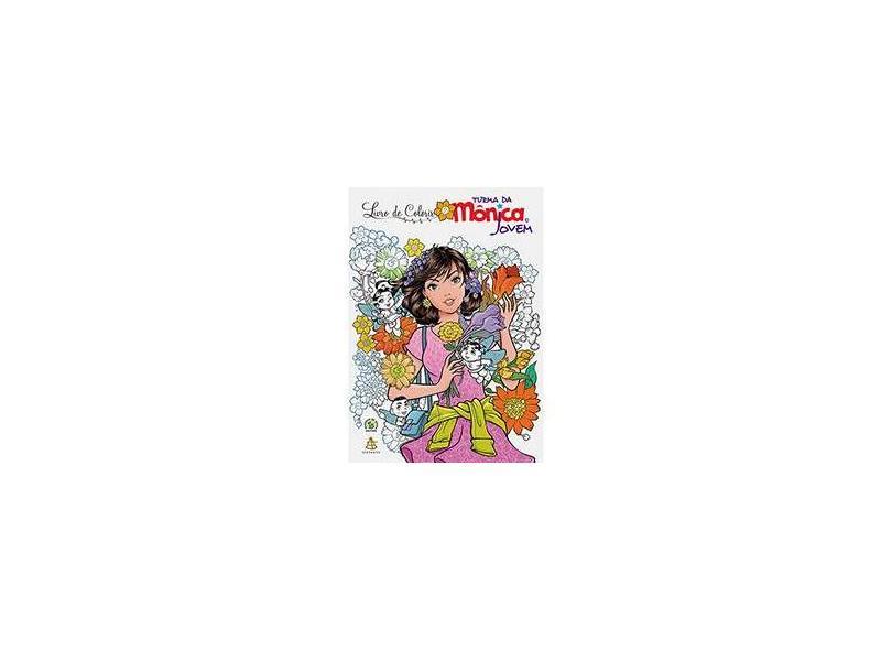 Livro de Colorir - Turma da Mônica Jovem - Sousa, Mauricio De - 9788543102689