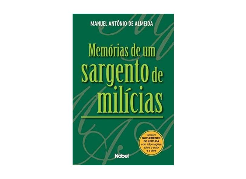 Memórias de um Sargento de Milícias - Almeida, Manuel Antônio De - 9788521314561