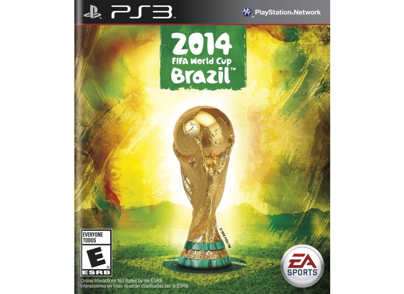 Jogo Copa do Mundo da Fifa Brasil 2014 PlayStation 3 EA