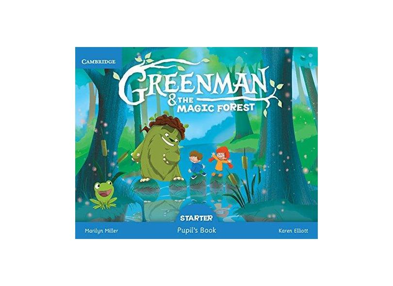 Greenman And The Magic Forest Starter - Pupil's Book - Marilyn Miller; - 9788490368145
